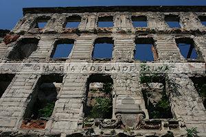 Mostar - ruína - ruin