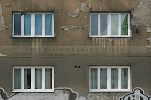 Sarajevo - marcas da guerra - signs of the war