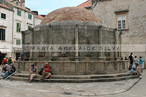 Dubrovnik - Fonte Onófrio - Onofrio Fountain