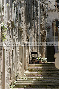 Korčula - rua estreita - narrow street