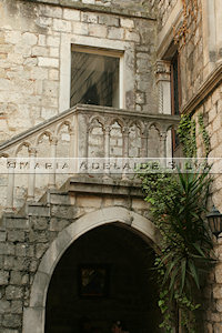Split - palácio gótico - gothic palace