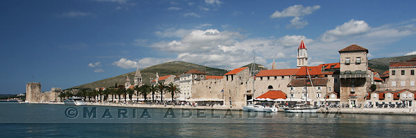 Trogir - vista geral - general view