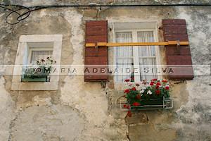 Grožnjan · janelas · windows