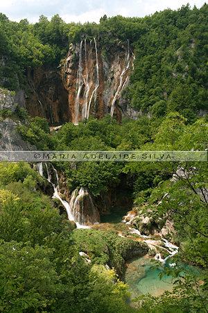 Plitvice · cachoeiras inferiores · lower falls