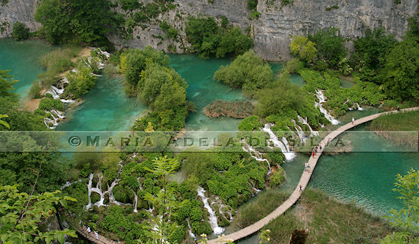 Plitvice · lagos inferiores · lower lakes