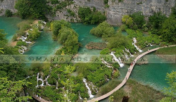 Plitvice · lagos inferiores · lower lakes