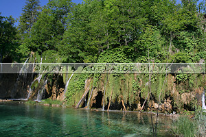 Plitvice · travertino · travertine
