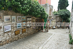 Rovinj · arte local · local art