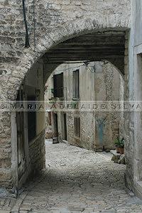 Rovinj · ruela · narrow street