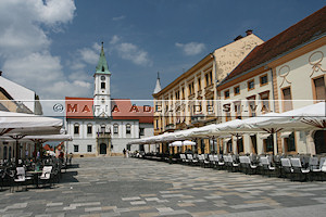 Varaždin · praça central · central square