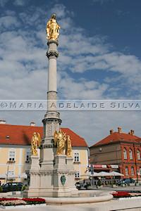Zagreb · Coluna da Virgem Maria · Virgin Mary's column