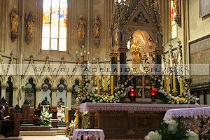 Zagreb · altar da catedral · cathedral altar