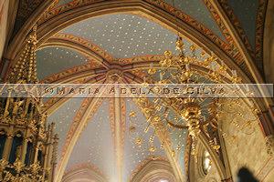 Zagreb · teto da catedral · cathedral's ceiling