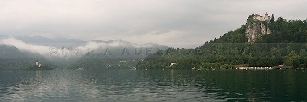 Bled - vista do lago - lake view