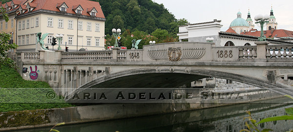 Ljubljana - Ponte dos Dragões - Dragon Bridge