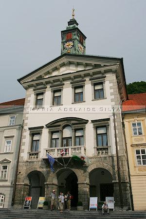 Ljubljana - Prefeitura - Town Hall