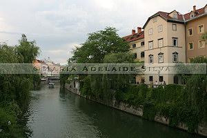 Ljubljana - Rio Ljubljanica - Ljubljanica River