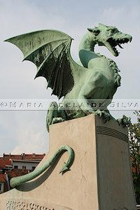 Ljubljana - dragão - dragon