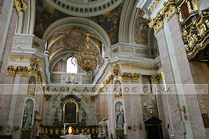 Ljubljana - interior da Catedral - Cathedral's interior