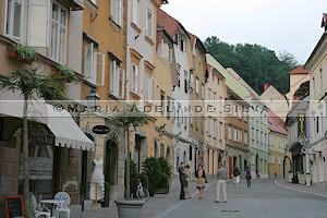 Ljubljana - rua antiga - old street