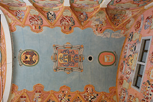 Ljubljana - teto da capela - chapel's ceiling