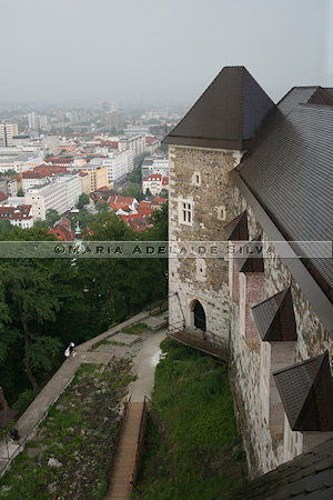 Ljubljana - vista do castelo - view from the castle