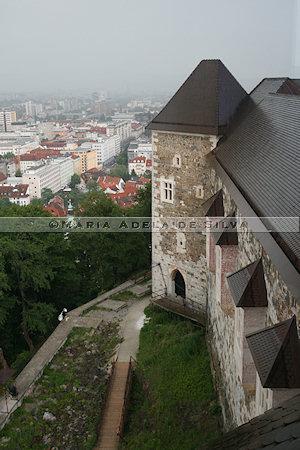 Ljubljana - vista do castelo - view from the castle