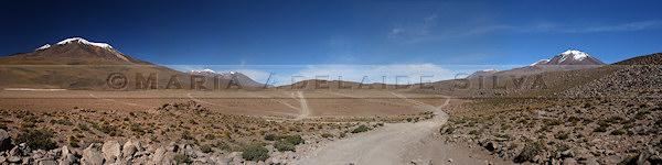 Paisagem do deserto · Desert landscape · foto/photo: Maria Adelaide Silva
