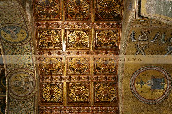 Catedral de Monreale · Monreale Cathedral - teto · ceiling
