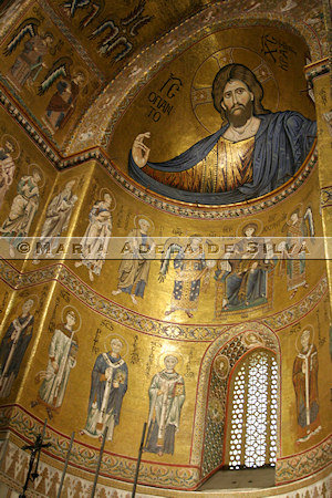 Catedral de Monreale · Monreale Cathedral - altar