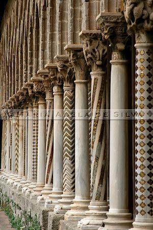 Monreale - claustro · cloister