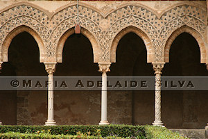 Catedral de Monreale · Monreale Cathedral - claustro · cloister