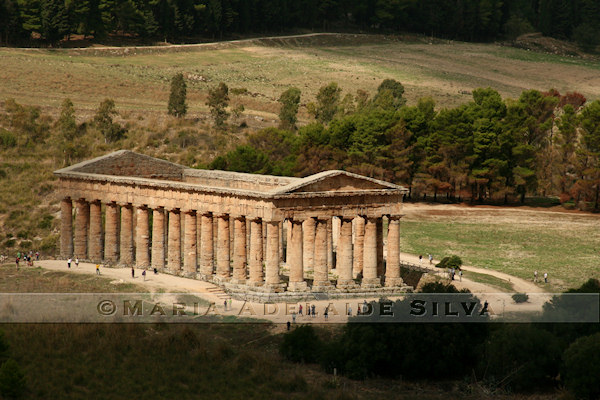 Segesta - templo · temple